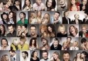 Проект «Звезды смеются» собрал 70 украинских звезд. Фото