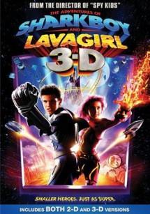 Приключения Шаркбоя и Лавы в 3-D