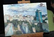 Козловский и Педан рисовали любовь в большом городе