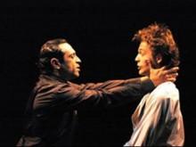 """Кадр из спектакля """"Гамлет"""" Камерного театра Тель-Авива. Фото предоставлено пресс-службой проекта Шекспир@Shakespeare"""
