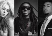 Шакира, Лил Уэйн и Тимбаланд записали новую песню. Фото. Видео