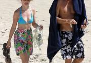 Кристин Дэвис отдохнула с бойфрендом на Карибах. Фото