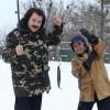 Павел Зибров и Виктор Павлик пожалели рыбу на Крещение. Фото