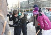 Звезды против беспредела на улицах Киева. Фото