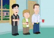 "Чарли Шин, Элайджа Вуд и Джеймс Вудс в ""Гриффинах"". Фото"