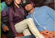 Ферджи и Джош Дюамель в ночном клубе Enclave. Фото