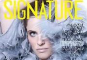 Беременная Аманда Пит появилась в журнале Signature. Фото
