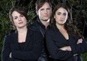 Питер Фачинелли, Элизабет Ризер и Никки Рид в Los Angeles Times. Фото