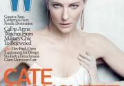 Кейт Бланшетт в журнале W. Фото