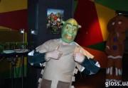 В кинотеатре «Украина» прошла «Зеленая вечеринка» в честь Шрэка. Фото