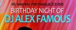 Happy birthday to you, Alex Famous