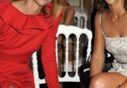 Звезды на шоу Валентино и на вечеринке после показа. Фото