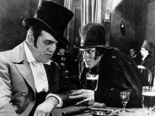 "Кадр из фильма ""Доктор Джекил и мистер Хайд"" 1920 года"