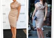 Виктория Бекхем и Лейтон Мистер появились в одинаковых платьях