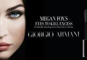 Меган Фокс снялась для Giorgio Armani Beauty. Фото