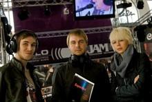 Новости Tomato Jaws посетили стенд jam-music.com.ua