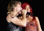 Bon Jovi и Rihanna спели дуэтом. Фото. Видео