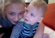 Оксана Акиньшина впервые показала своего ребенка. Фото