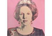 Портрет королевы Беатрикс работы Уорхола продан за 422 тысячи евро