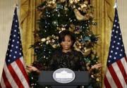 Американцы признали Мишель Обаму лучшим декоратором елок