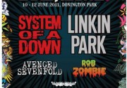 Linkin Park и Rob Zombie возглавят Download festival 2011