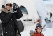 Семья Сары Джессики Паркер радуется нью-йоркскому снегу. Фото