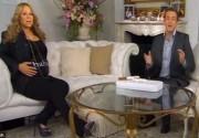 Мэрайя Кери показала свой животик на ТВ. Фото