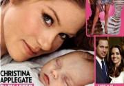 Кристина Эпплгейт вместе с новорожденной дочерью украсила обложку глянца. Фото