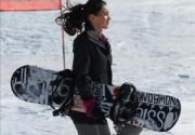 Меган Фокс освоила сноуборд. Фото