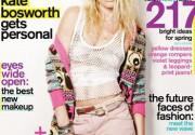 Кейт Босуорт украсила обложку нового номера журнала Nylon. Фото