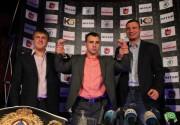 В ресторане ДЕЖАВЮ прошла пресс-конференция, посвященная бою Макса Бурсака против Карлоса Адана Хереза