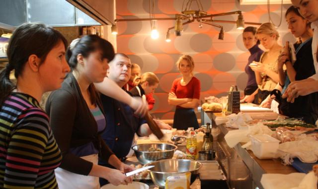 Мастере класс по готовке