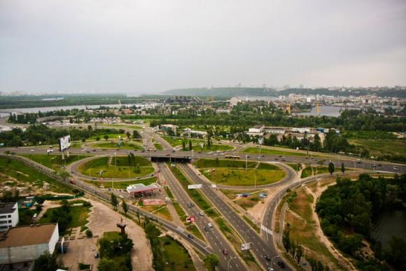 Крыша на улице Героев Сталинграда