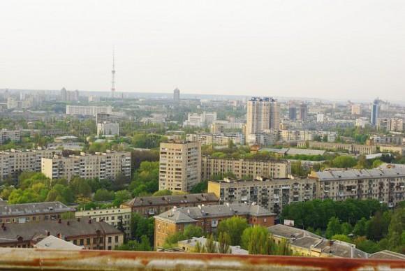 Крыша на Севастопольской площади