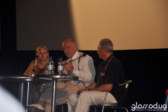 Пресс-конференция с Джоном Малковичем