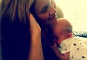 Кейт Хадсон показала новорожденного сына