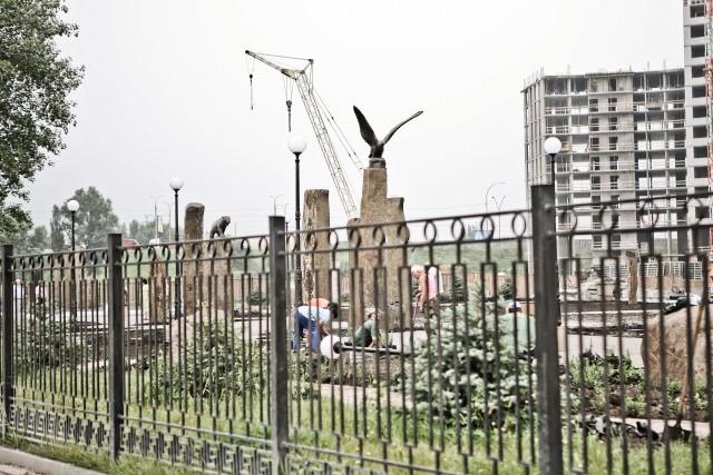 Сквер станет логическим продолжение известной среди киевлян и гостей столицы рекреационной зоны Оболони - Днепровской набережной