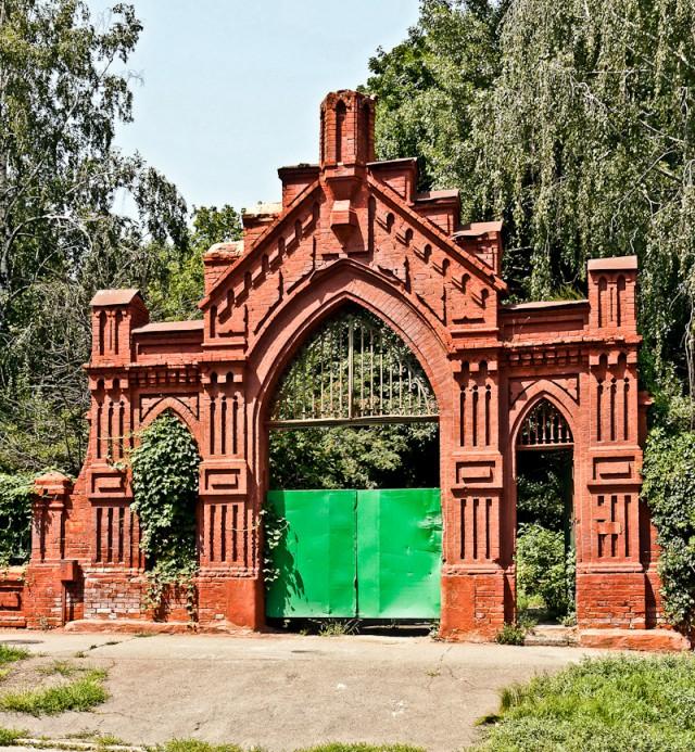 Ворота лютеранской части