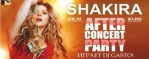 Shakira - After Concert Party в Touch Cafe