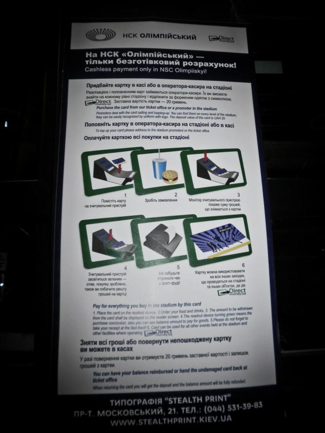 Инструкция для карточки