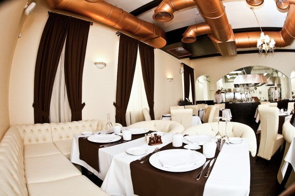 Вот так выглядит ресторан