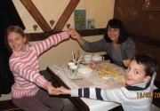 18 лютого 2012 р. в кав'ярні Золотий Дукат відбувся майстер-клас  з тістопластики (ліплення з солоного тіста) для дітей
