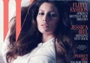 Джессика Бил в сексуальной фотосессии для журнала W