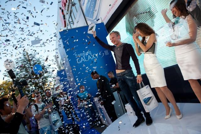 Среди новых владельцев GALAXY S III организаторы разыграли 20 планшетов Samsung GALAXY Tab 2 7.0
