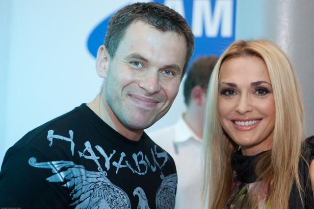 Геннадий Попенко и Ольга Сумская
