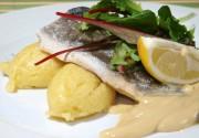 Сибас на морской соли: аппетитный шик от Роллхаус