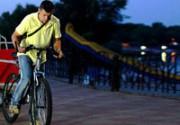 Велосипедный Киев: кофейня, бар и рикша на двух колесах