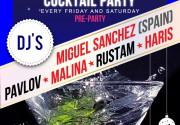 Коктейльные вечеринки на Martini Terrazza
