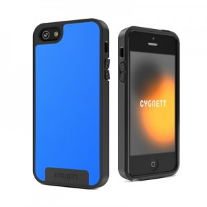 Чехол Cygnett Apollo Case Wake Blue/Grey for iPhone 5