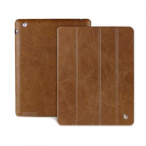 Чехол Jison Vintage Real Leather Smart Cover Brown